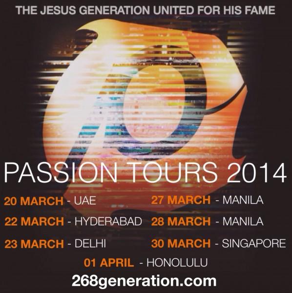 Passion Tours 2014